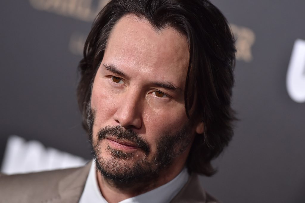 Keanu Reeves arrives at the Los Angeles premiere of Summit Entertainment's 'John Wick: Chapter 2' at ArcLight Hollywood o