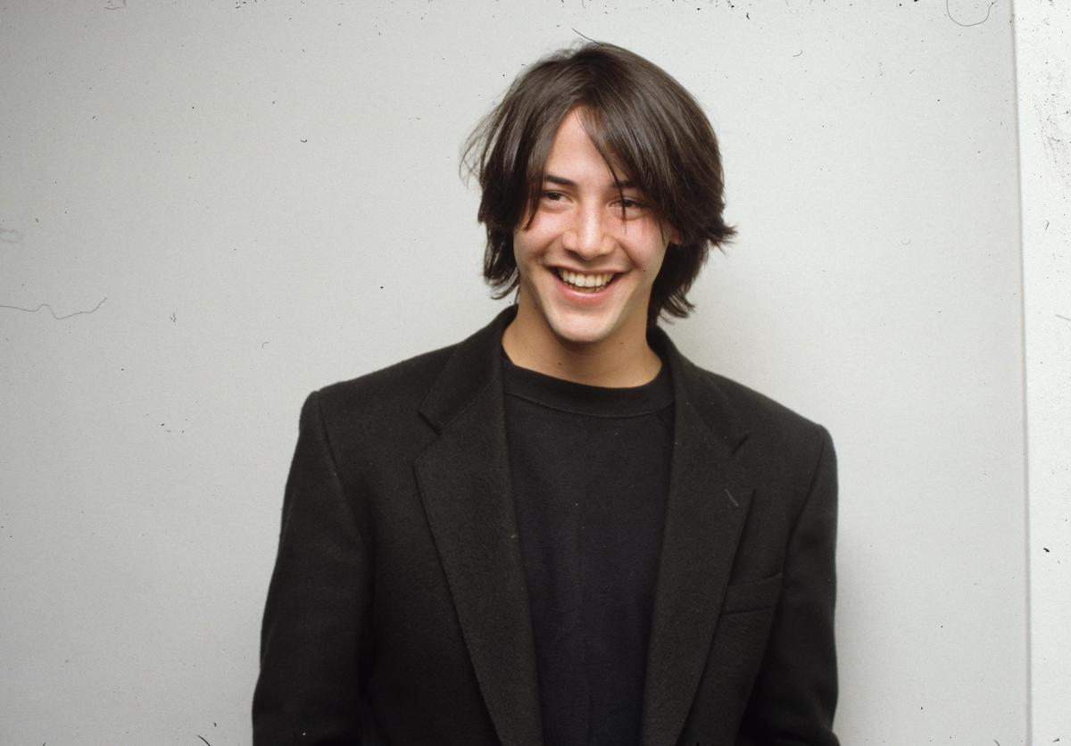 Keanu Reeves in the early 1990s