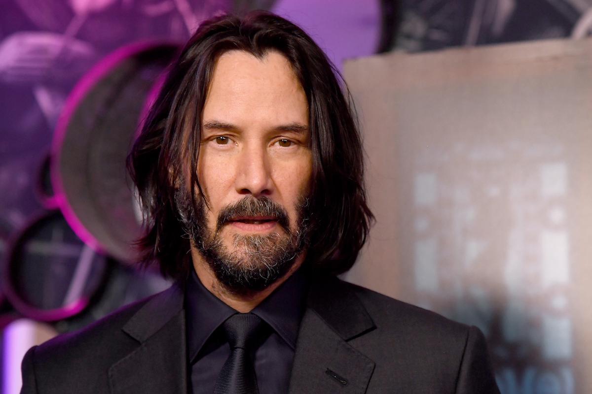 Keanu Reeves at a 'John Wick' screenings