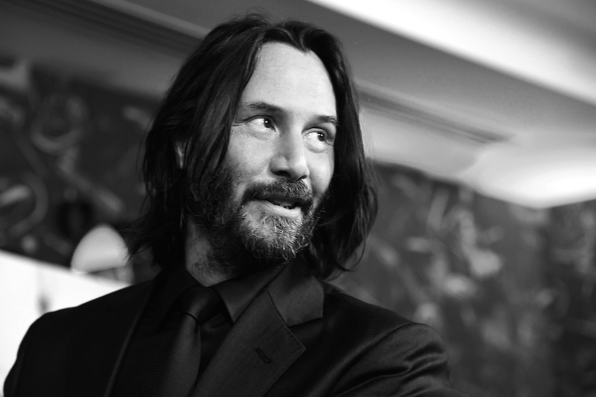 Keanu Reeves at a 'John Wick' special screening