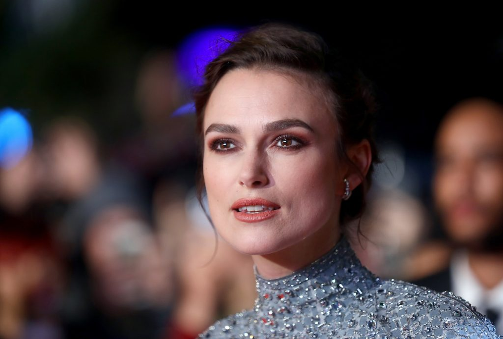 "Keira Knightley attends the UK Premiere of ""Colette"" and BFI Patrons gala during the 62nd BFI London Film Festival on October 11, 2018 in London, England."