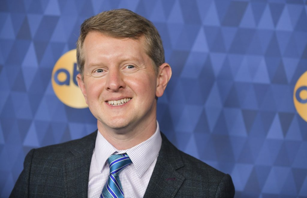 Ken Jennings of 'Jeopardy!' attends the ABC Television's Winter Press Tour 2020 at The Langham