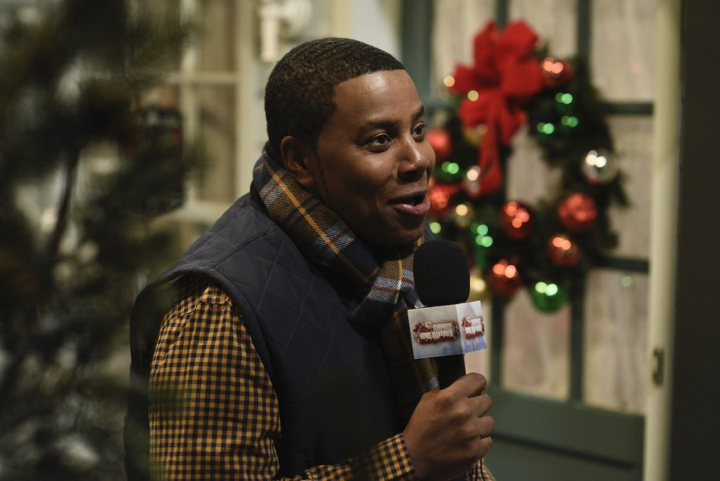 """Kenan Thompson as Becker Cheeks during the """"Surprise Home Makeover"""" sketch on 'Saturday Night Live'"""