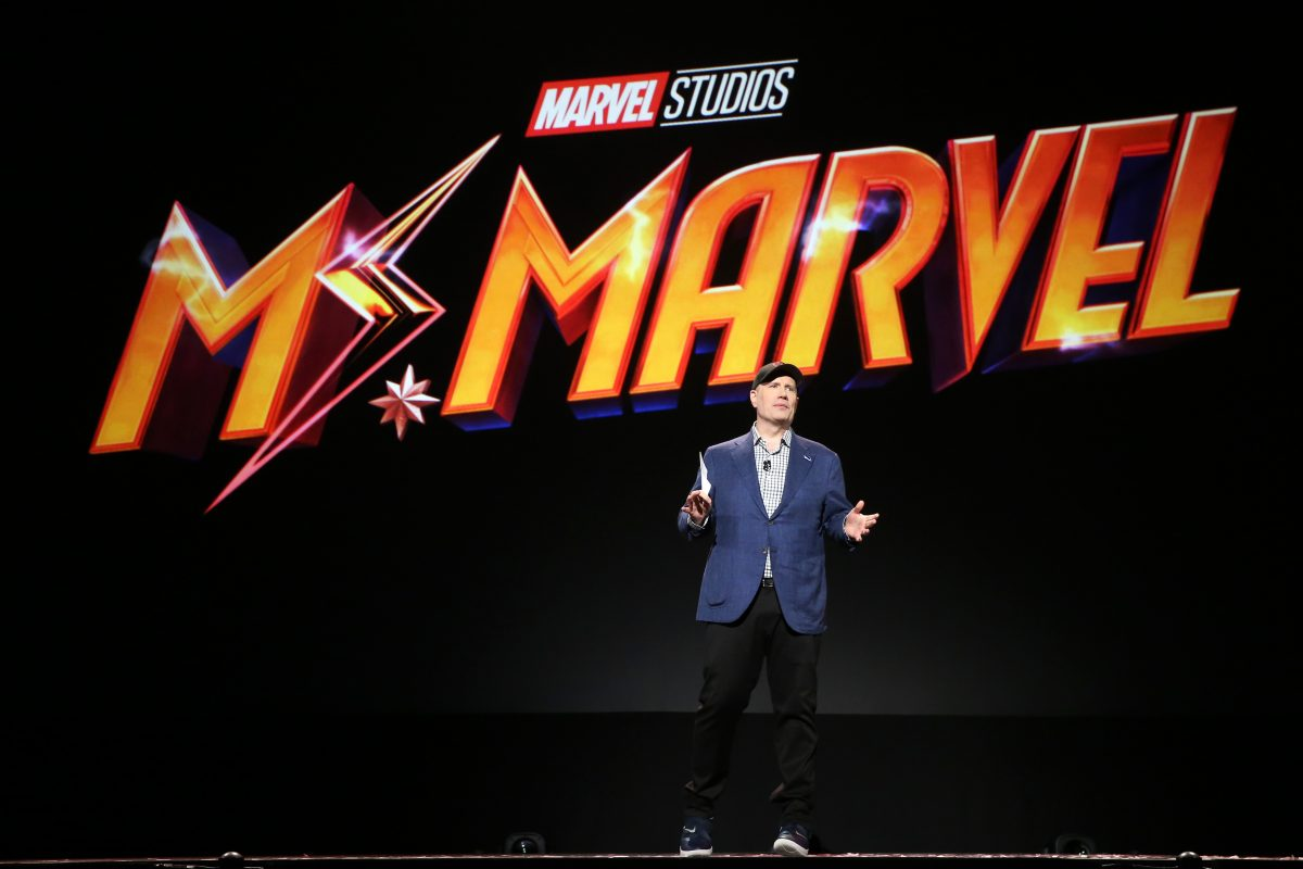 Kevin Feige announces Ms. Marvel at D23