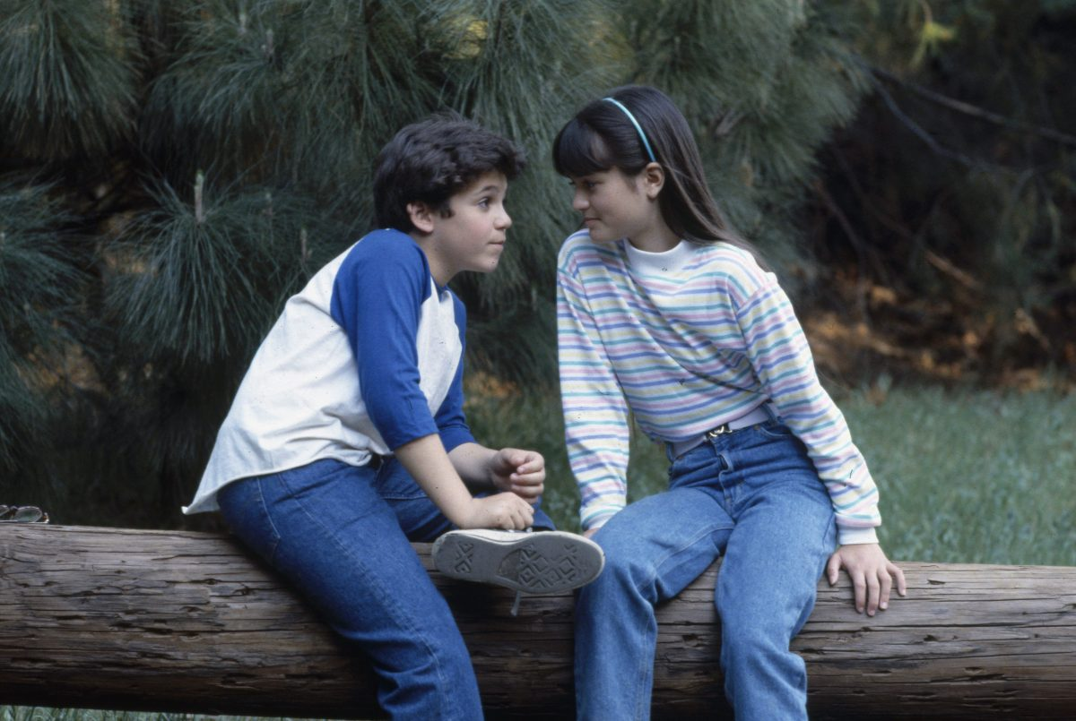 Fred Savage as Kevin Arnold and Danica McKeller as Winnie Cooper