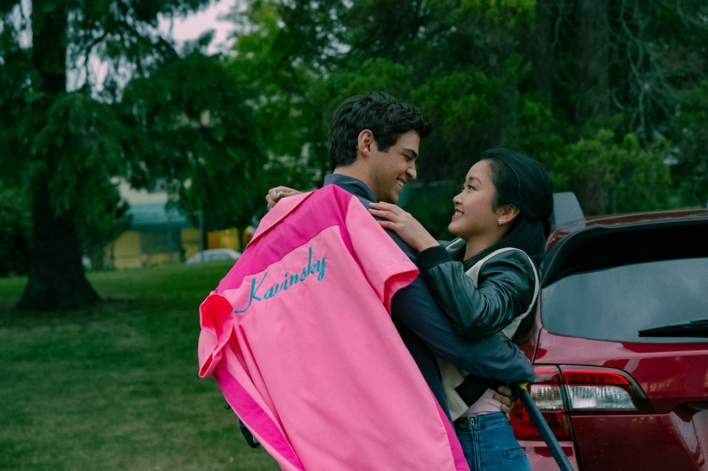 Lara Jean and Peter in To All the Boys: Always and Forever