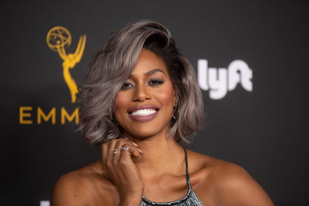 Laverne Cox arrives for the Television Academy Honors
