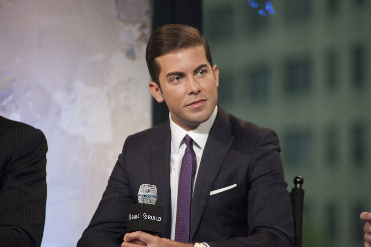 Luis D. Ortiz from 'Million Dollar Listing' attends a press conference.