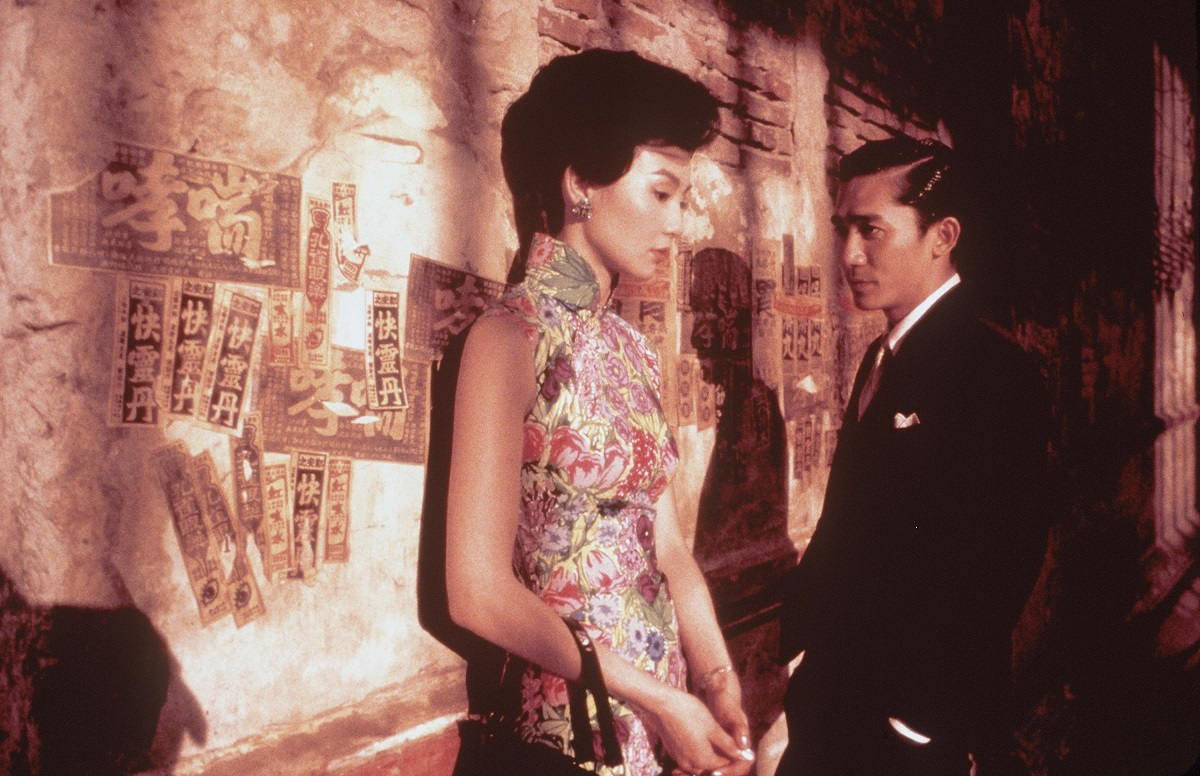 Maggie Cheung and Tony Leung in a still from the 2000 movie 'In the Mood for Love'