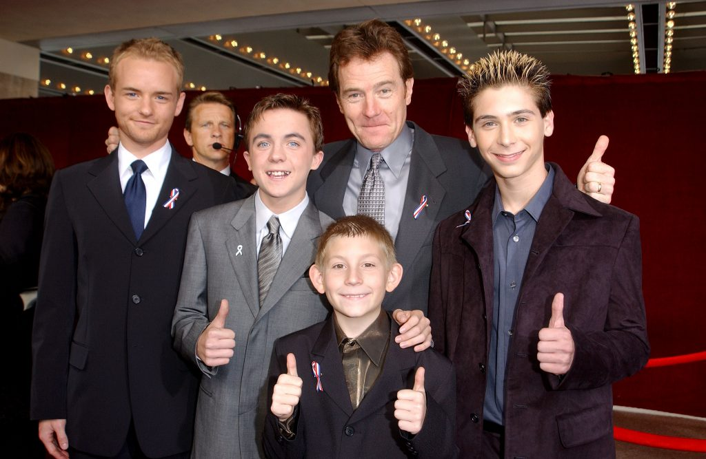 The cast of 'Malcolm In The Middle'