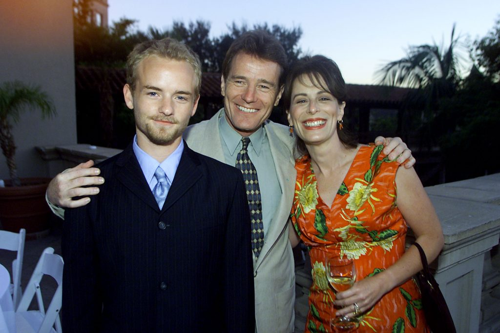 'Malcolm in the Middle' cast members Christopher Masterson, Bryan Cranston, and Jane Kaczmarek