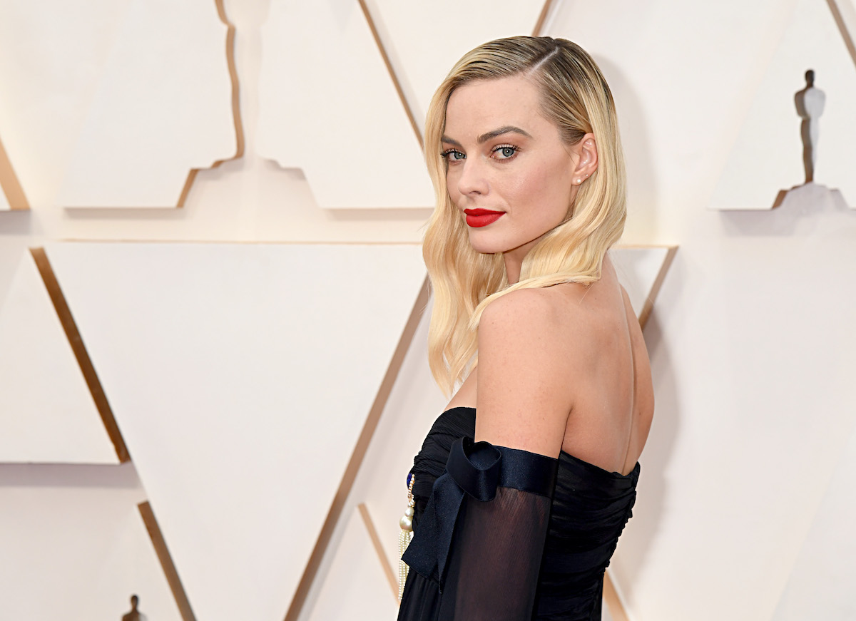 Margot Robbie at the Academy Awards in 2020