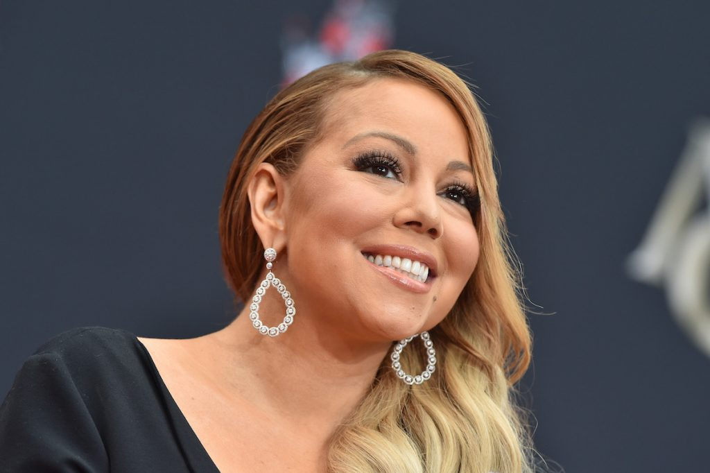 Mariah Carey is honored with Hand and Footprint Ceremony at TCL Chinese Theatre on November 1, 2017 in Hollywood, California   Axelle/Bauer-Griffin/FilmMagic