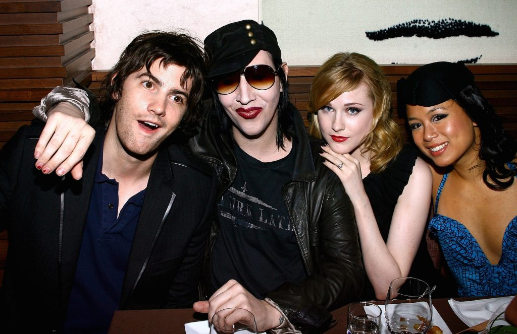 Jim Sturgess, Marilyn Manson, Evan Rachel Wood, and T.V. Carpio