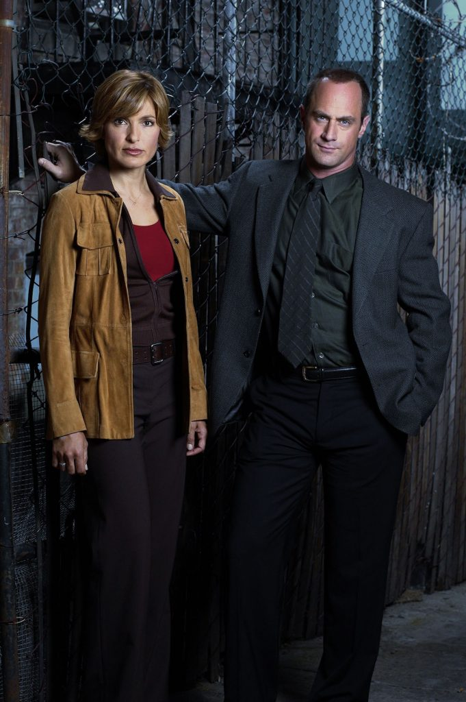 Mariska Hargitay and Christopher Meloni in 'Law & Order: SVU'