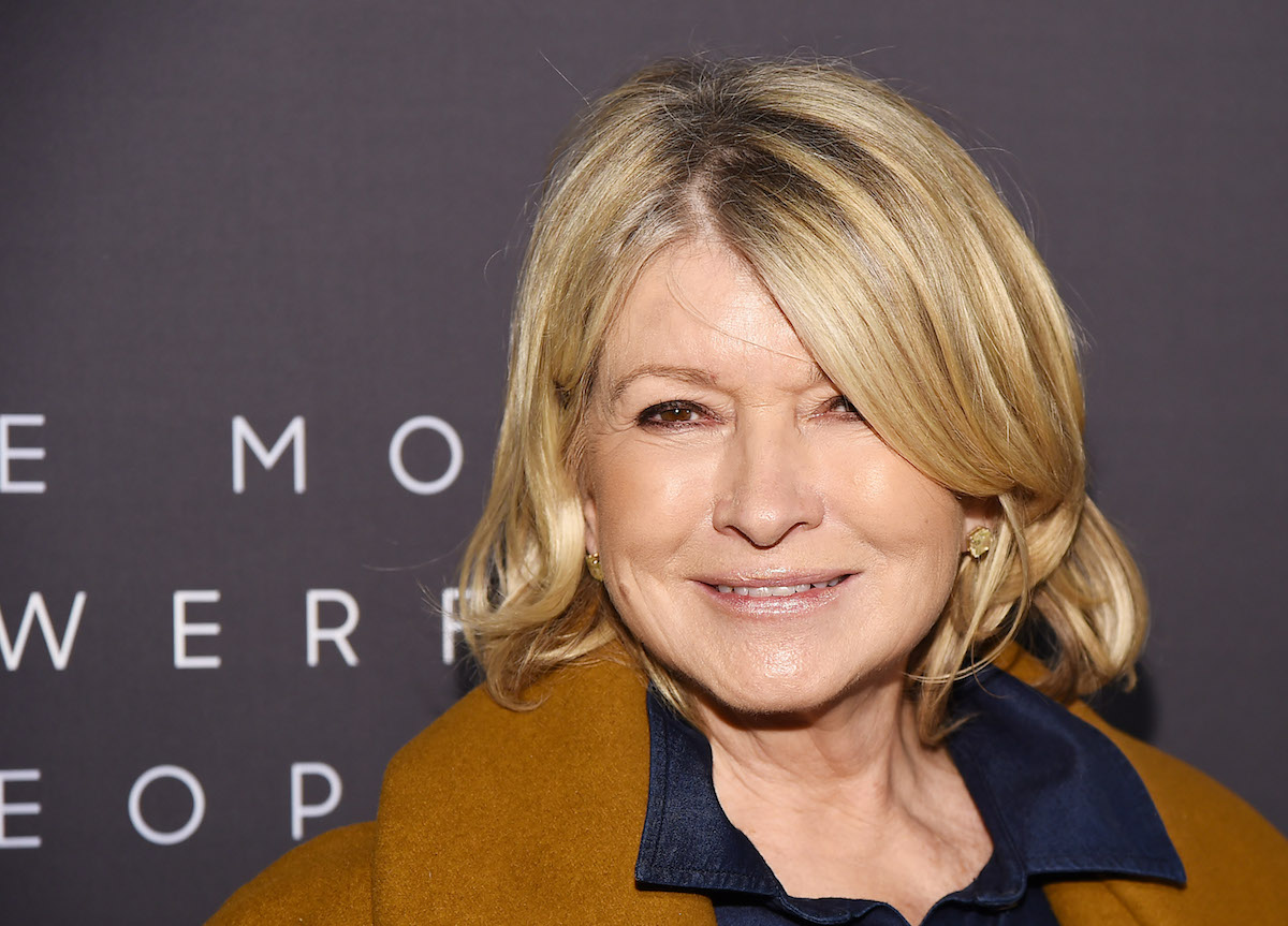 Martha Stewart poses for photographers as she attends the The Hollywood Reporter's 9th Annual Most Powerful People In Media at The Pool on April 11, 2019 in New York City.