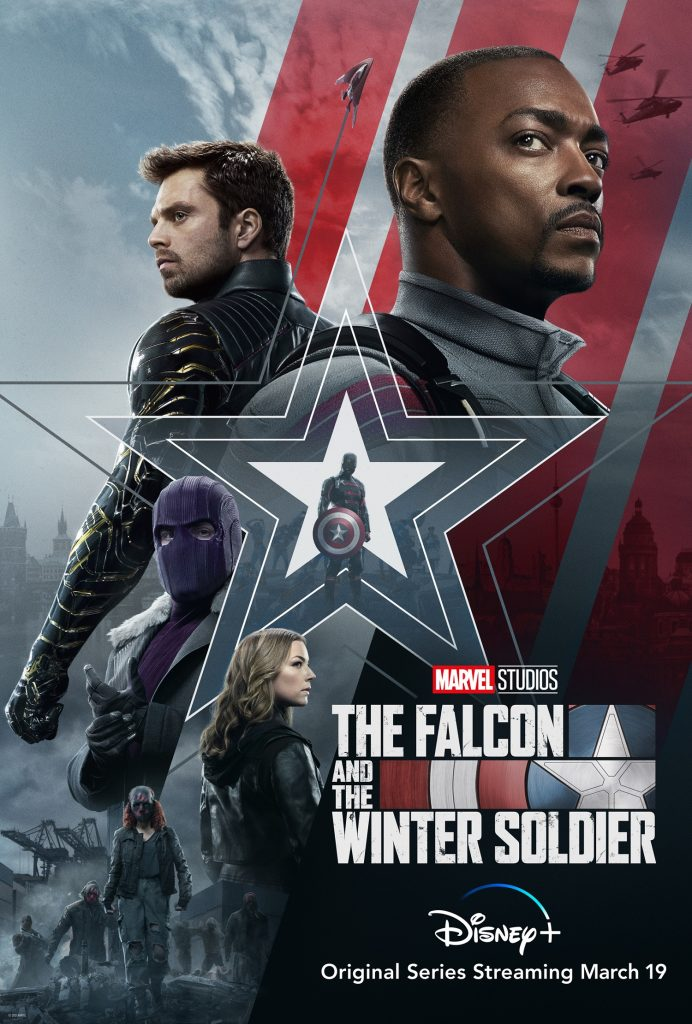 Marvel's The Falcon and the Winter Soldier poster