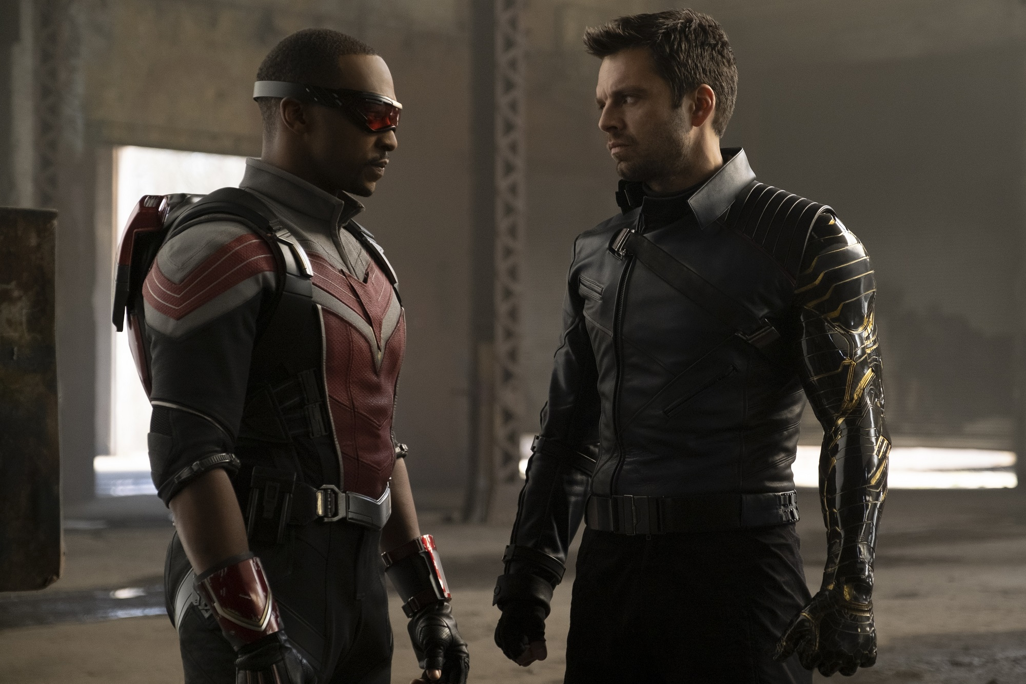 The Falcon and the Winter Soldier Anthony Mackie and Sebastian Stan