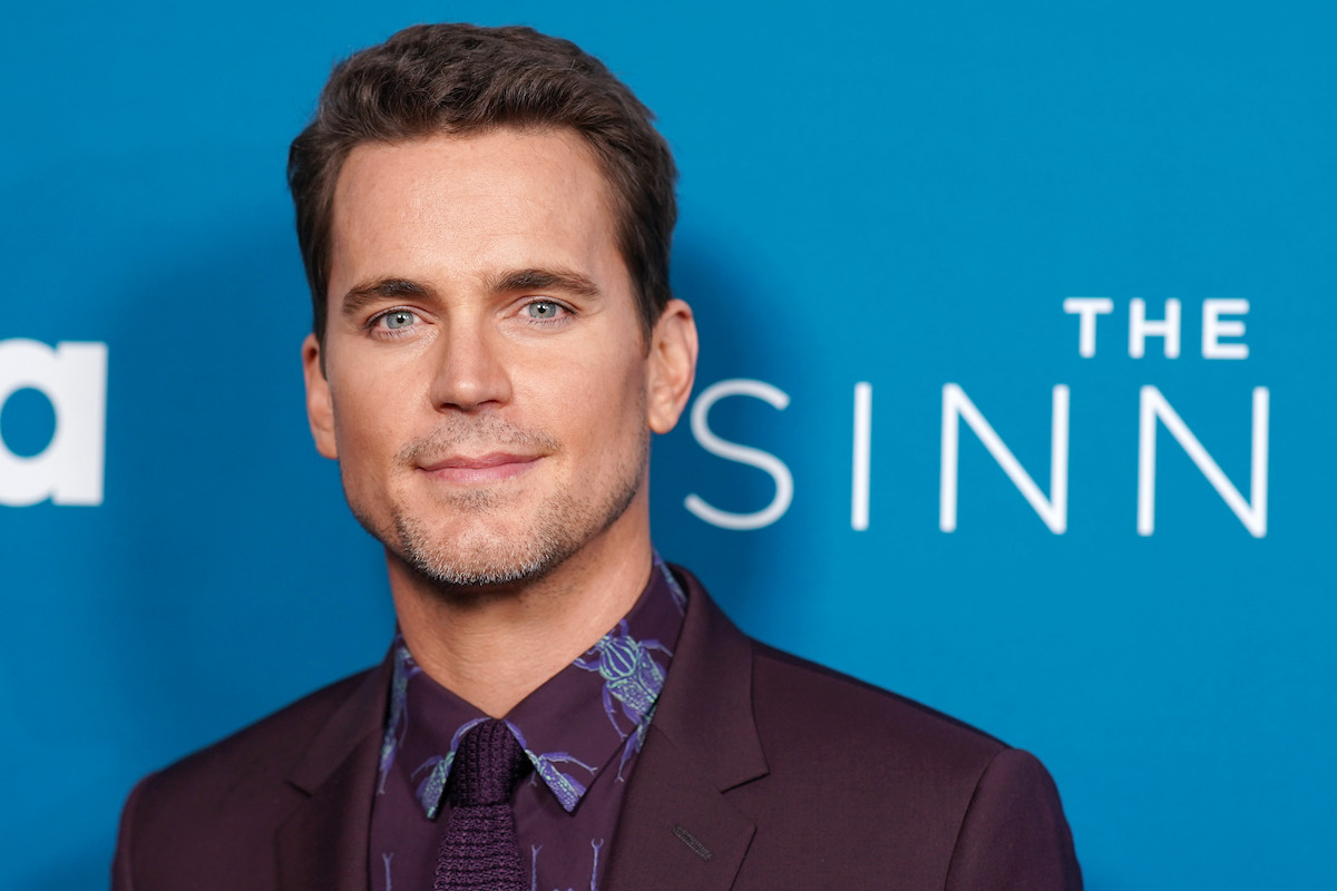 Matt Bomer poses for photographers at 'The Sinner' Season 3 premiere