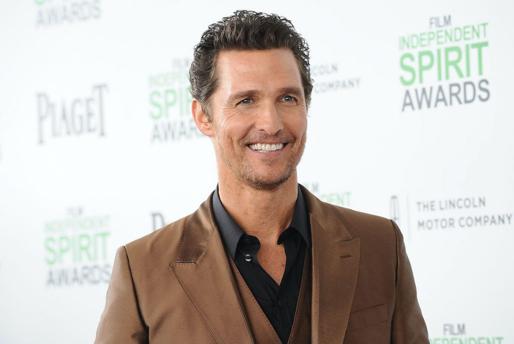 Matthew McConaughey attends the 2014 Film Independent Spirit Awards on March 1, 2014 in Santa Monica, California.