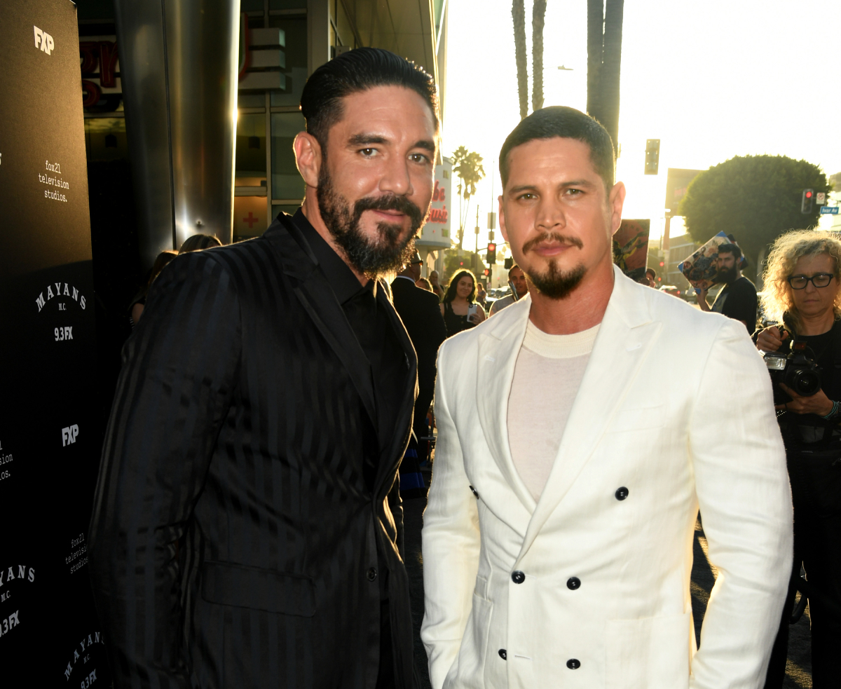 Mayans MC stars Clayton Cardenas and JD Pardo in 2019
