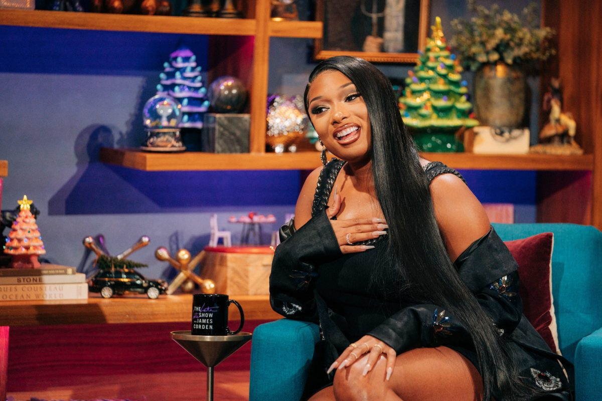 Megan Thee Stallion and James Corden starred in
