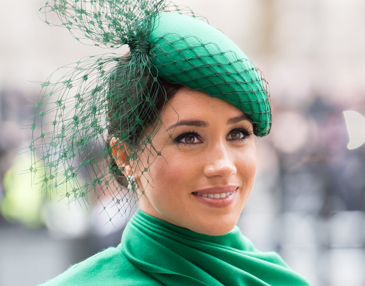 Meghan Markle attending Commonwealth Day Service 2020 on March 09, 2020
