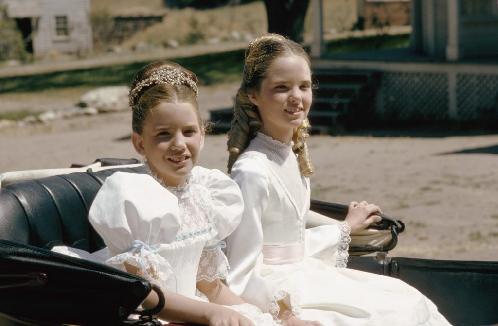 Melissa Gilbert as Laura Ingalls, and Melissa Sue Anderson as Mary Ingalls | NBCU Photo Bank