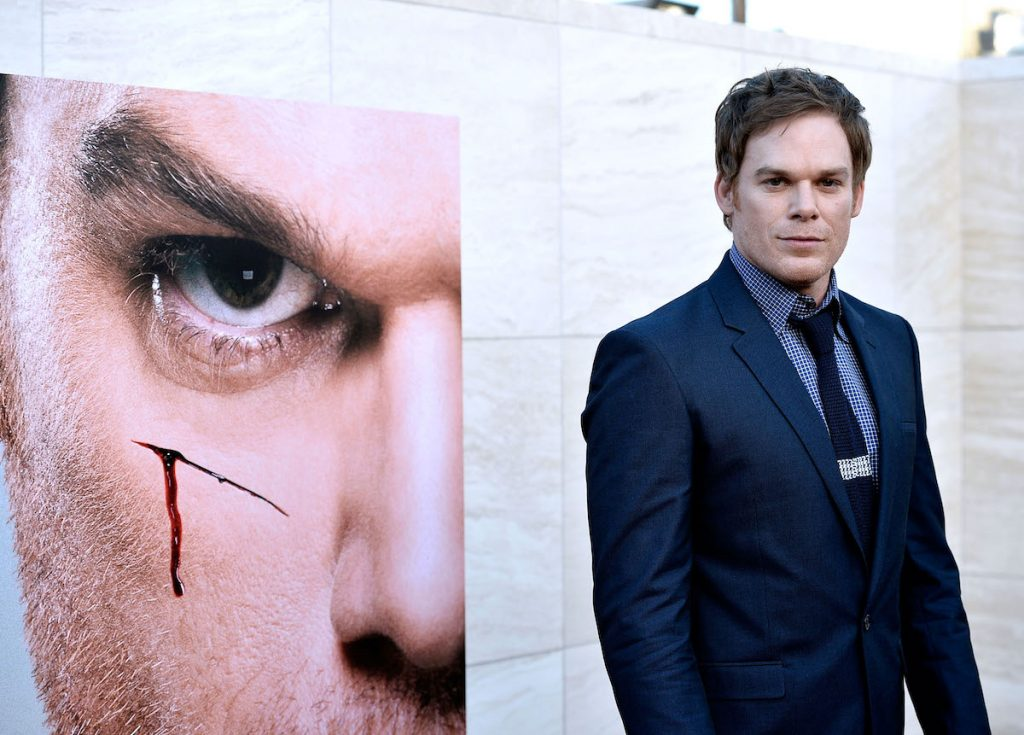 Michael C. Hall on the red carpet