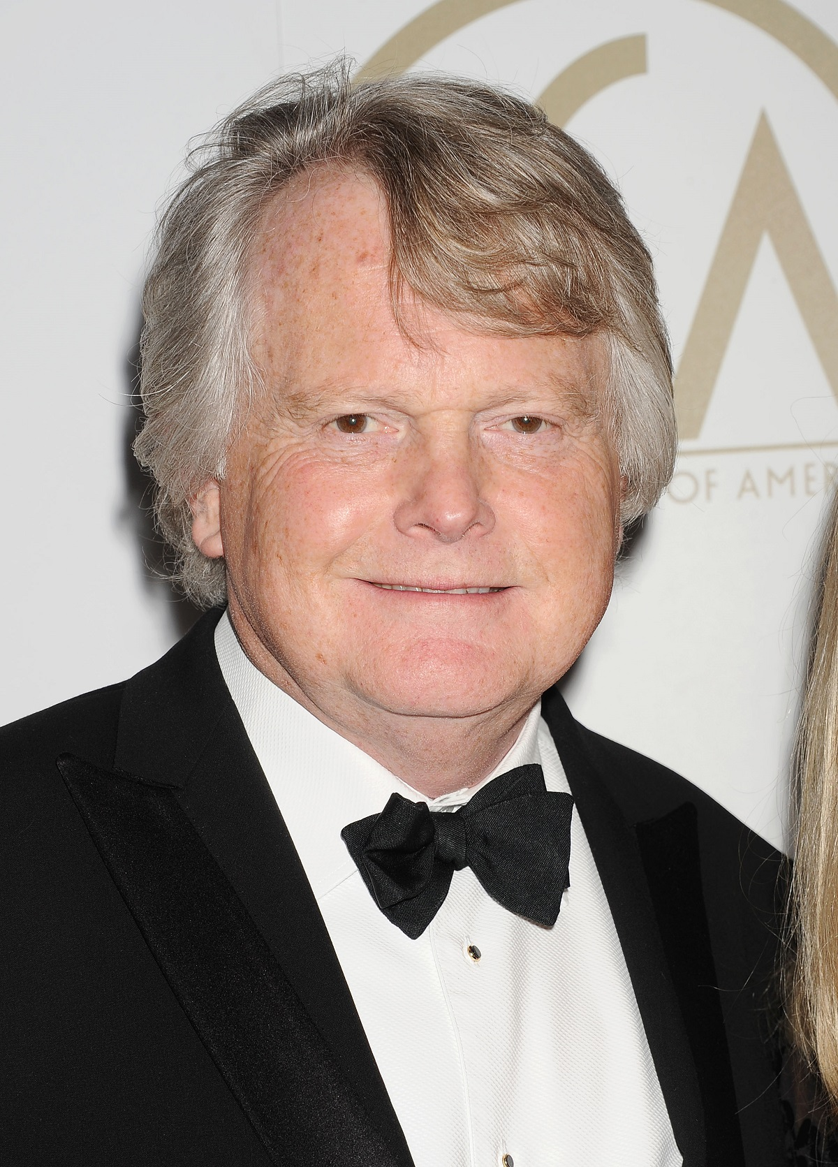 Closeup of Lord Michael Dobbs on the red carpet in 2014