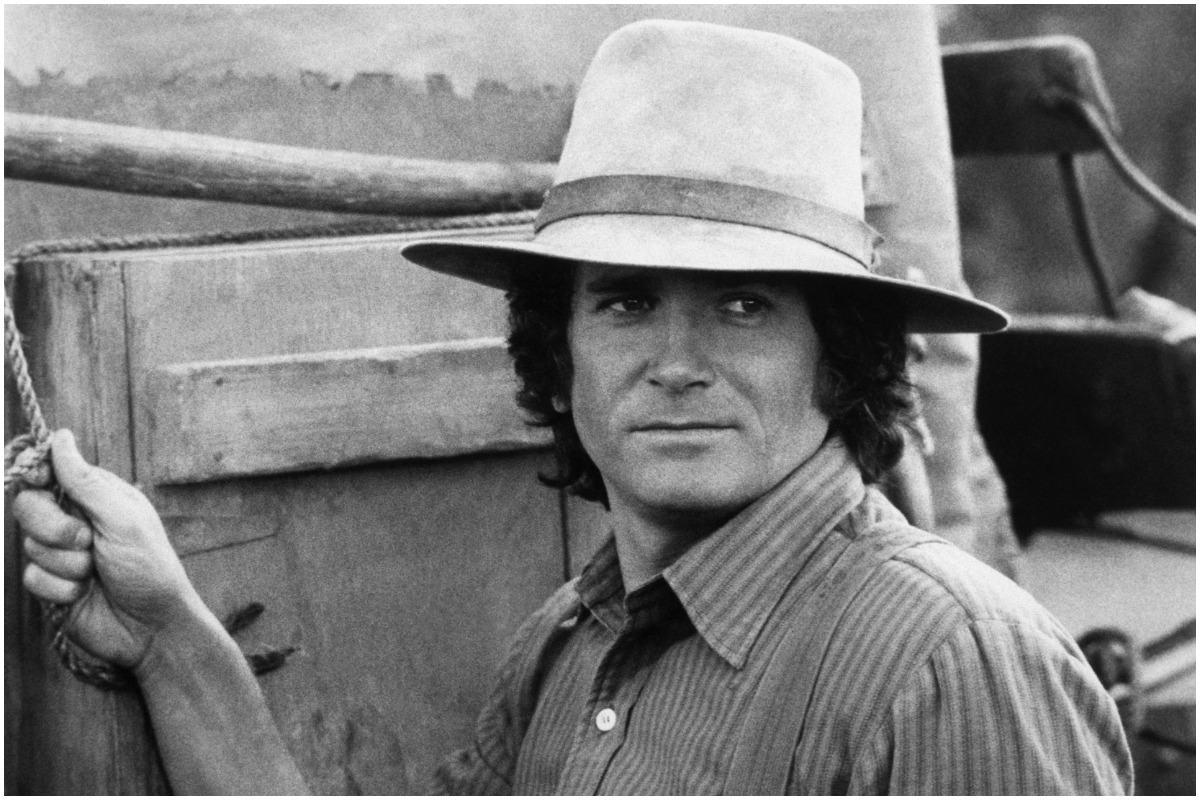"""Michael Landon as Charles Ingalls in the TV series """"Little House on the Prairie""""."""
