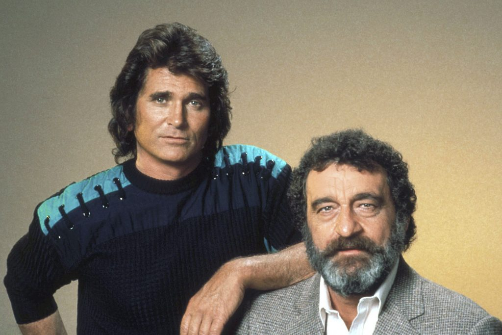 Michael Landon and Victor French   Herb Ball/NBCU Photo Bank/NBCUniversal via Getty Images