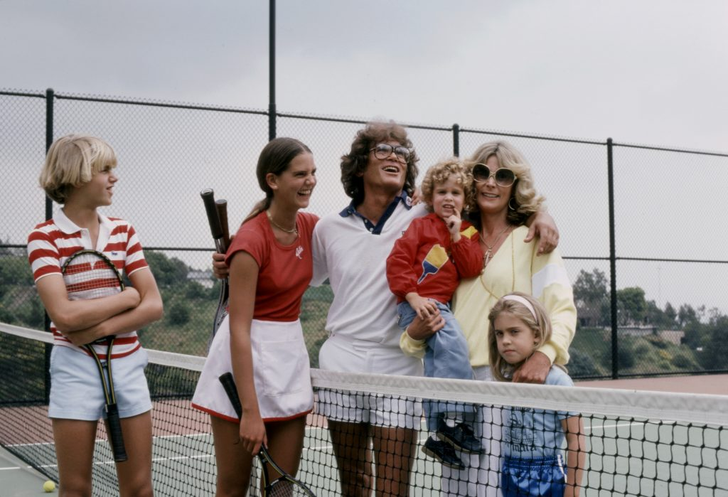 Michael Landon and Lynn Noe with their children |  American Broadcasting Companies via Getty Images
