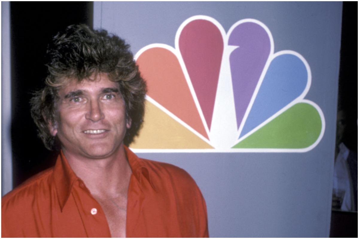 LOS ANGELES - JUNE 18: Actor Michael Landon attends the NBC Television Affiliates Party on June 18, 1986 at Century Plaza Hotel in Los Angeles, California.
