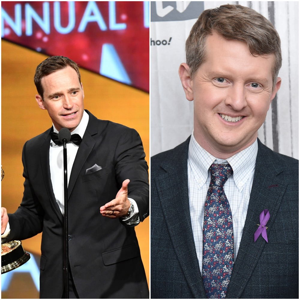 'Jeopardy!' Executive producer Mike Richards and  Jeopardy!' GOAT Ken Jennings