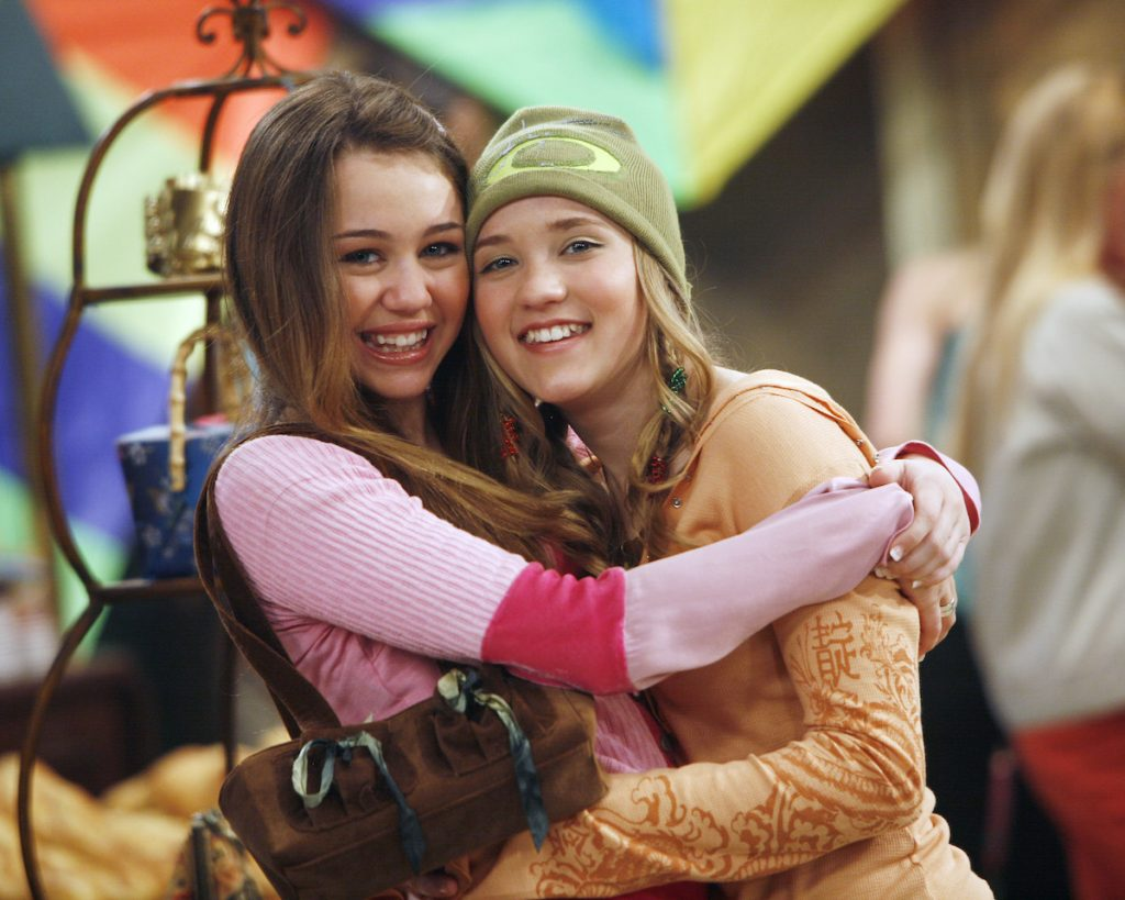Miley Cyrus and Emily Osment   Disney Channel/Isabella Vosmikova/Getty Images