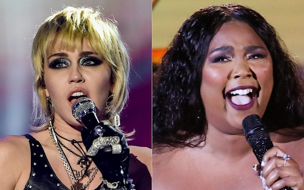Miley Cyrus (L) and Lizzo (R) | Alberto E. Rodriguez/Getty Images for dick clark productions/Monty Brinton/CBS via Getty Images