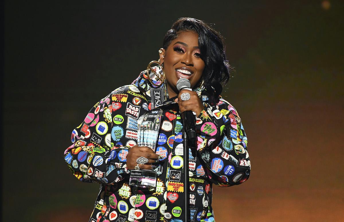 Missy Elliott speaks onstage during 2019 Urban One Honors