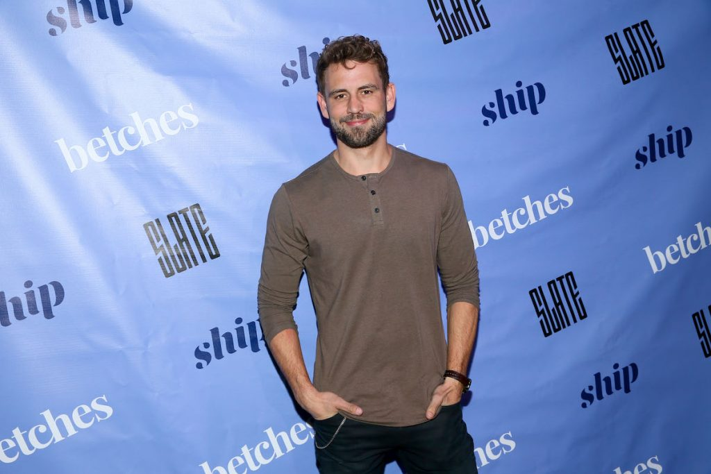Nick Viall at an event in New York City
