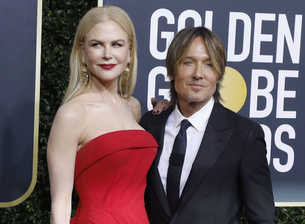 Nicole Kidman and Keith Urban photographed on the red carpet of the 77th Annual Golden Globe Awards at The Beverly Hilton Hotel on January 05, 2020 in Beverly Hills, California | P. Lehman/Barcroft Media via Getty Images