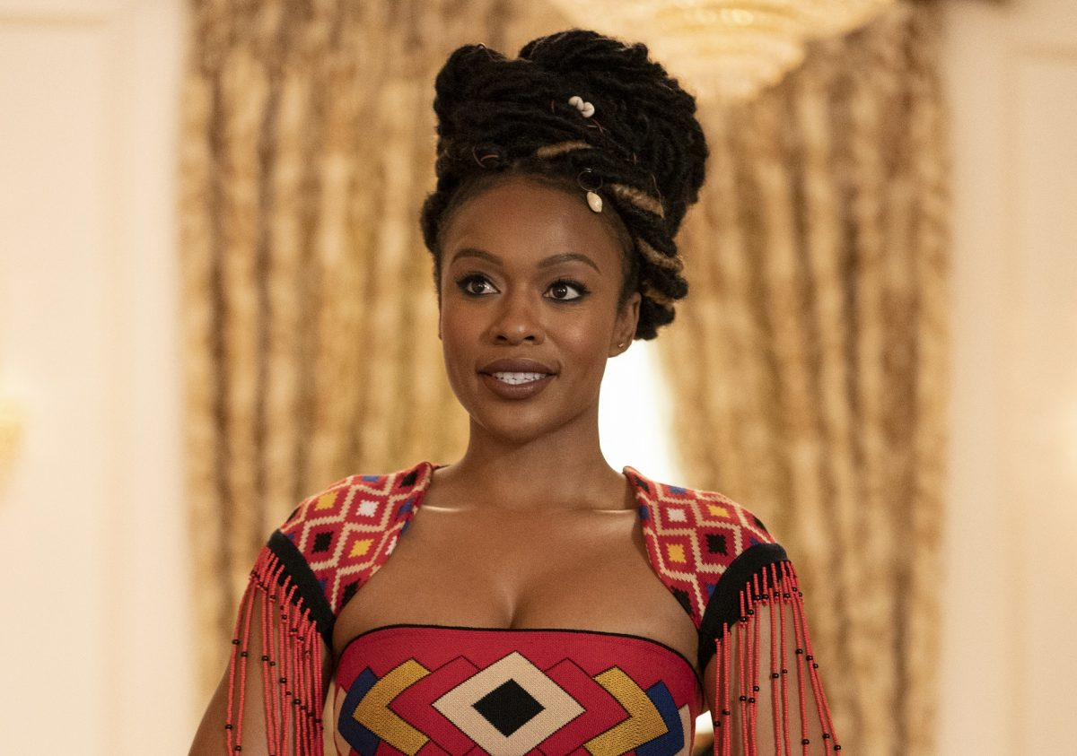 Nomzamo Mbatha in Coming 2 America