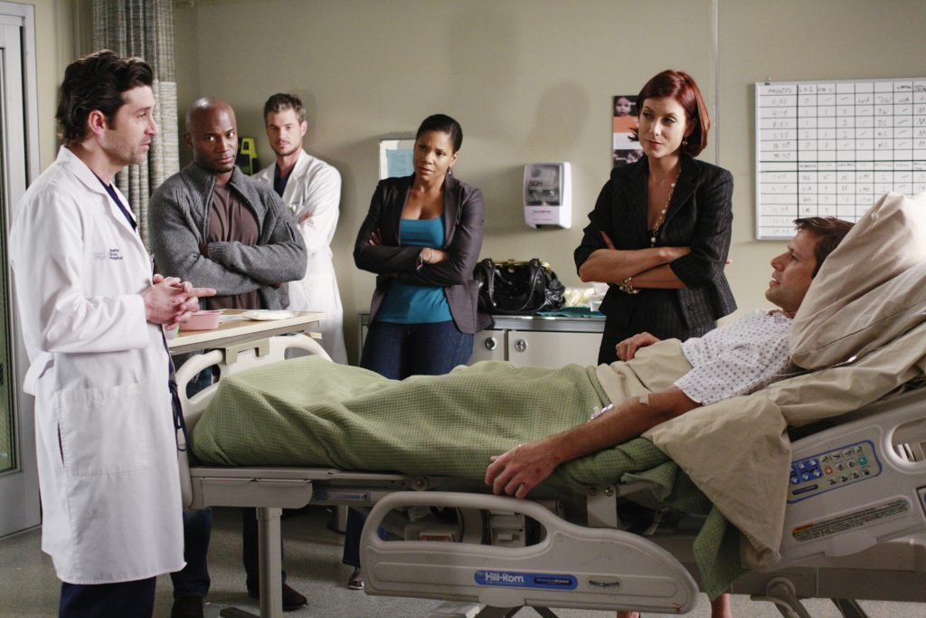 Grey's Anatomy and Private Practice Crossover Event with Patrick Dempsey, Taye Diggs, Audra McDonald, and Kate Walsh