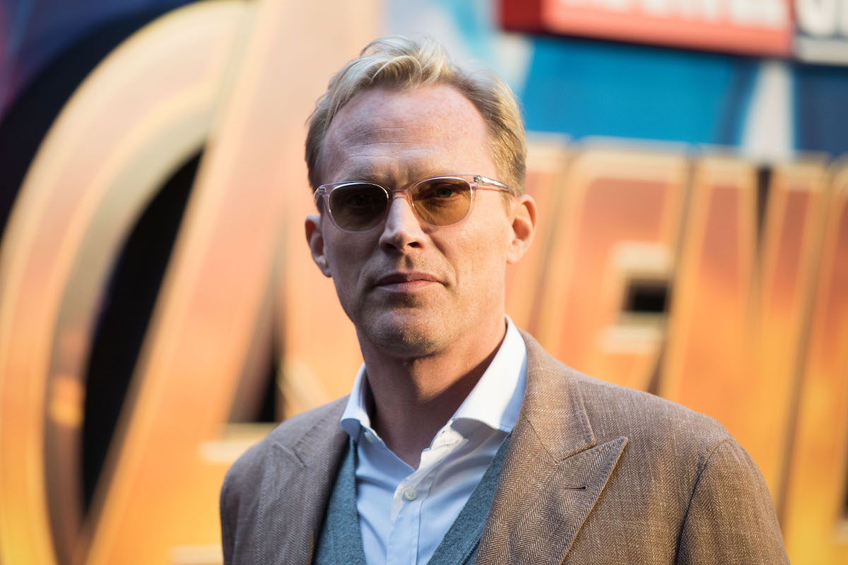 Paul Bettany at a UK fan event for 'Avengers: Infinity War'