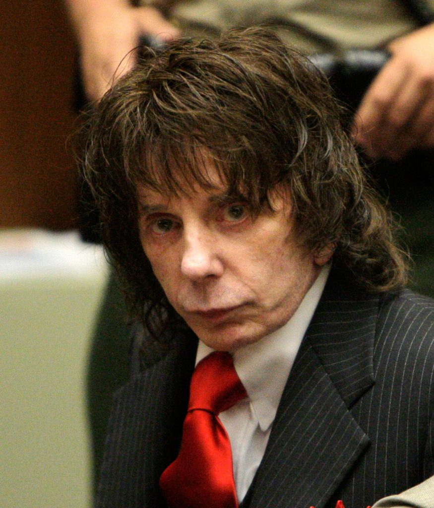 Phil Spector in Los Angeles courtroom