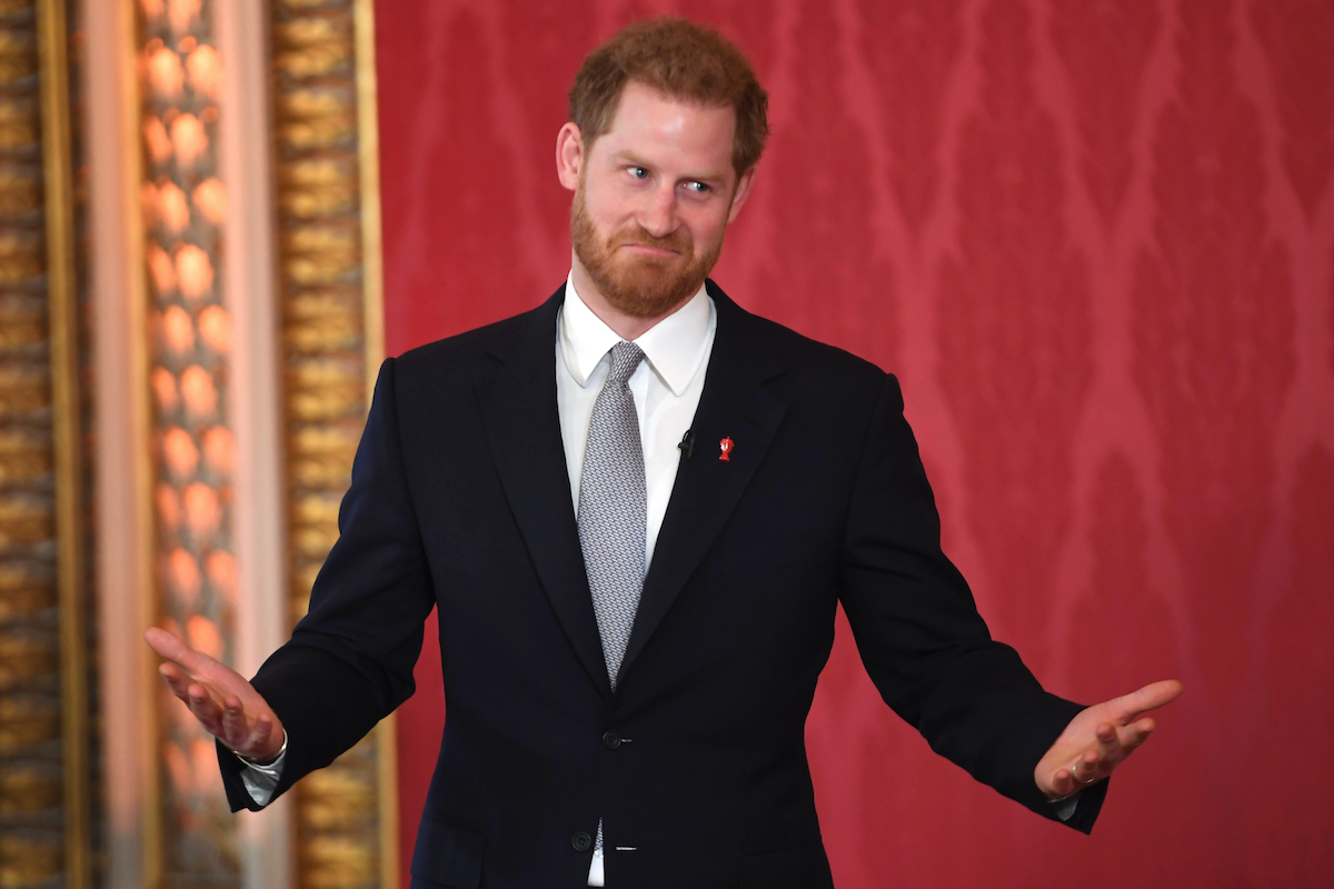 Prince Harry at the Rugby League World Cup 2021