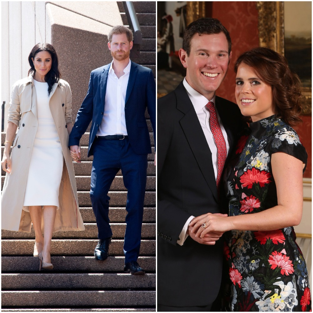 Prince Harry and Meghan Markle in Sydeny, Australia; Princess Eugenie and Jack Brooksbank's engagement photo