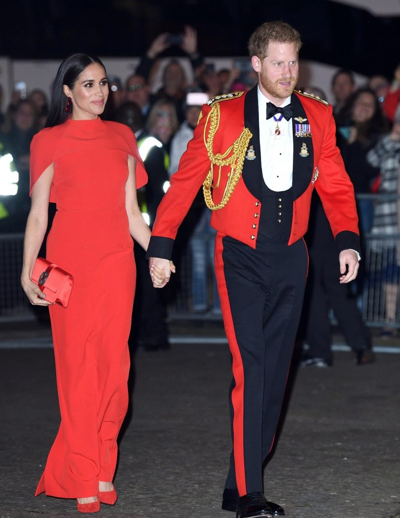 Prince Harry and Meghan Markle attend the Mountbatten Festival of Music