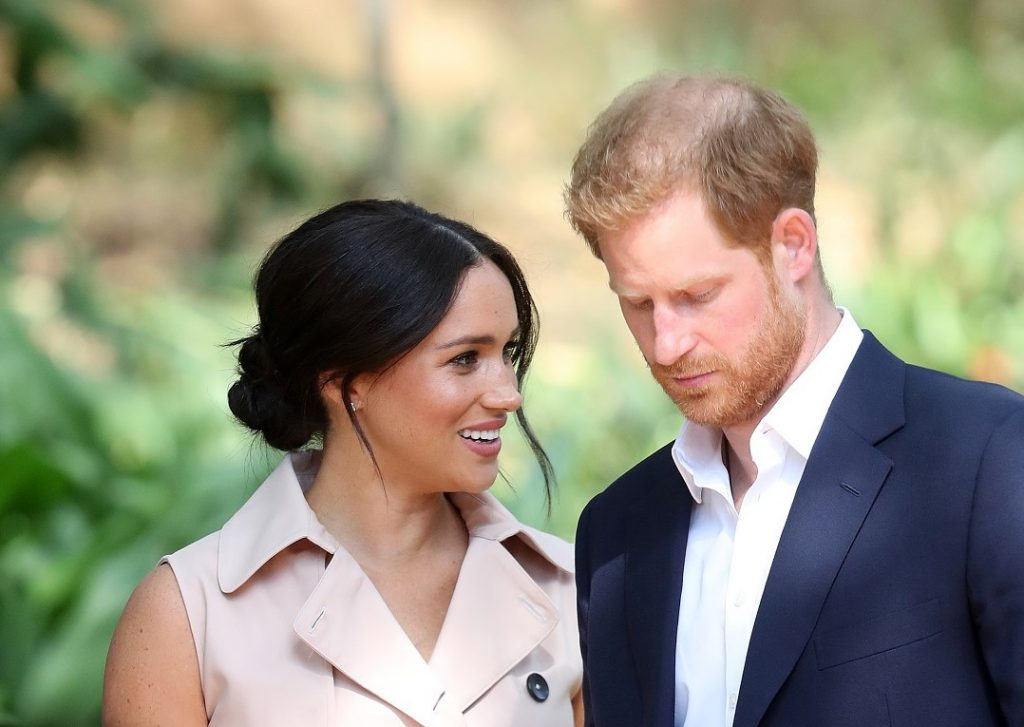 Prince Harry and Meghan Markle attend a Creative Industries and Business Reception in South Africa