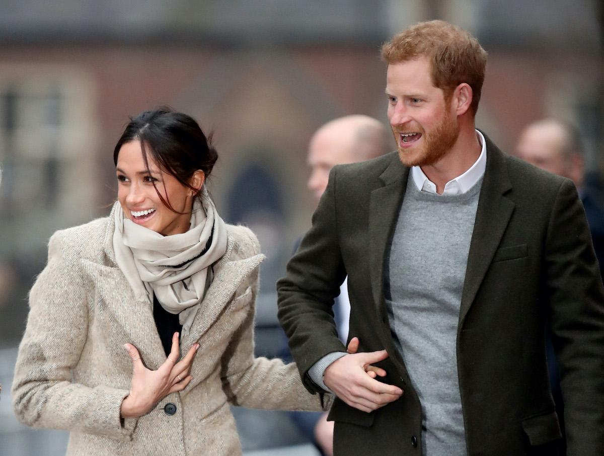 Prince Harry and Meghan Markle visit Reprezent 107.3FM