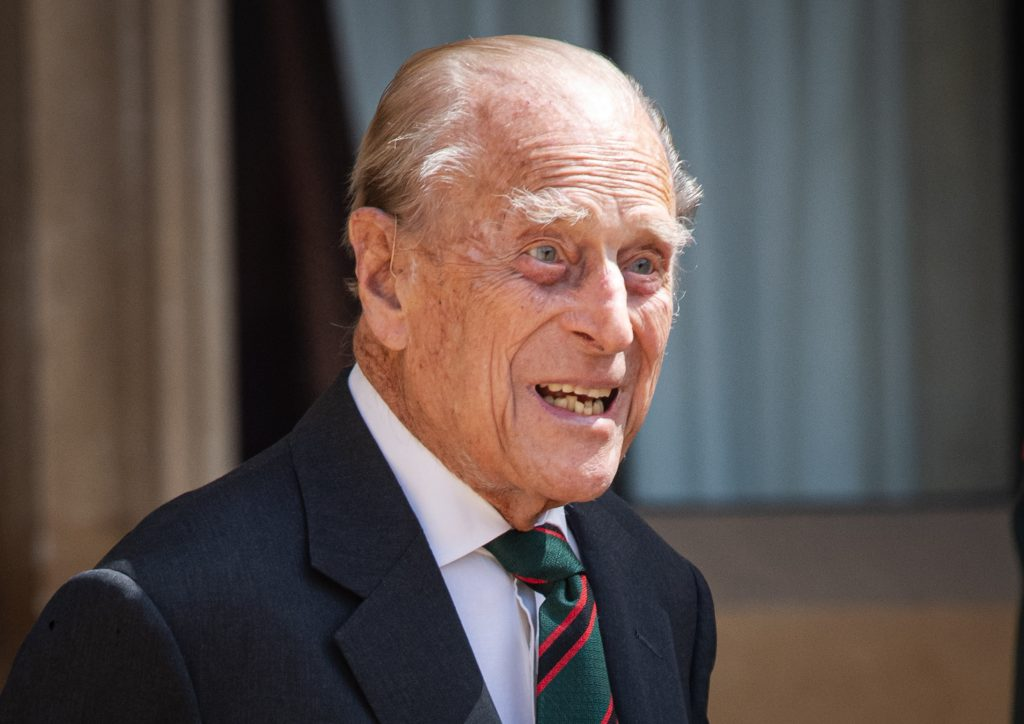 Prince Philip during the transfer of the Colonel-in-Chief at Windsor Castle
